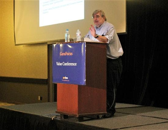 Bruce Greenwald speaks at the GuruFocus Value Conference.